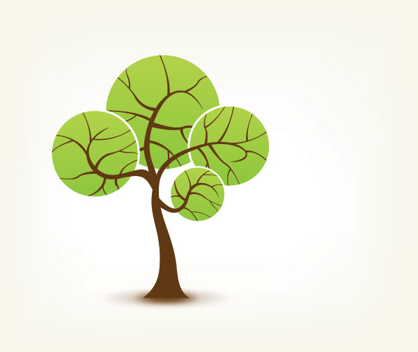 Vector tree 7 Top 10 Most Vivacious Vector Tree Illustrations from 2011