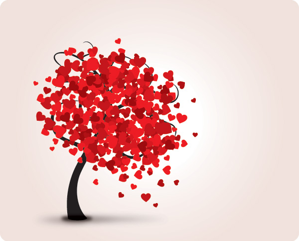 Vector tree 9 Top 10 Most Vivacious Vector Tree Illustrations from 2011