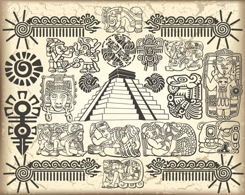 Aztec vector 15 The Aztecs Mark on Modern Art and Culture