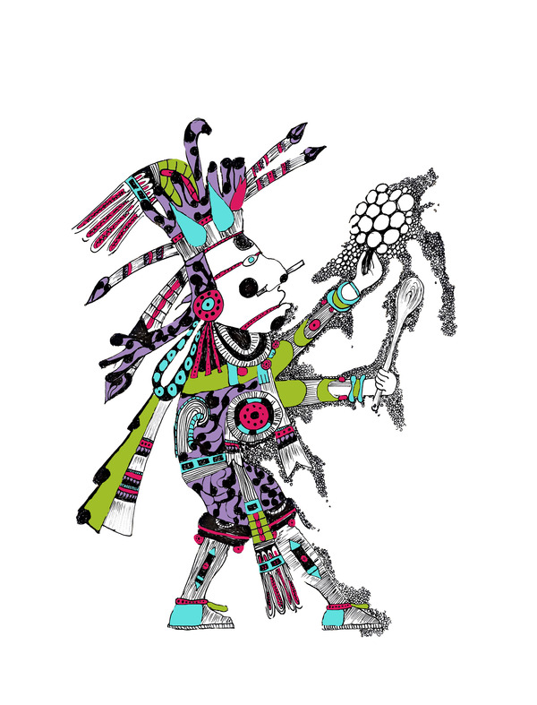 Aztec vector 41 The Aztecs Mark on Modern Art and Culture