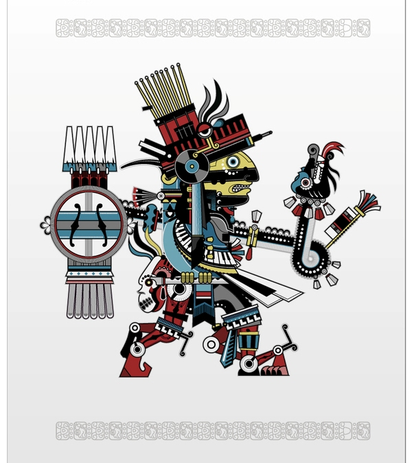 Aztec vector 9 The Aztecs Mark on Modern Art and Culture