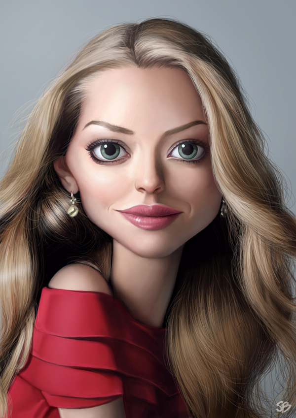 Celebrity vector caricature 20 Showcase of 25 Cunning Celebrity Digital Caricatures