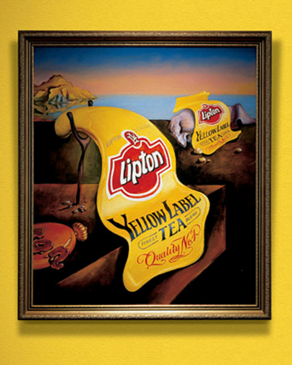 Ads famous paintings 10 15 Creative Ads Inspired by Famous Paintings