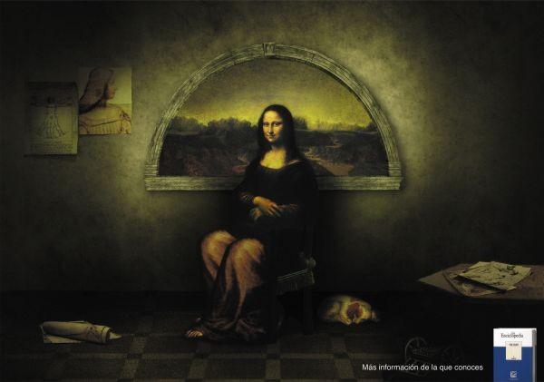 Ads famous paintings 8 15 Creative Ads Inspired by Famous Paintings
