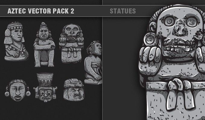 designious vector aztec 2 small 7 Remarkable Vector Packs & 1 Aztec Mega Pack from Designious.com!