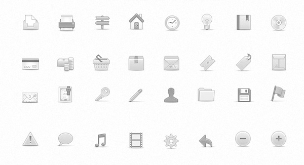 Free clean icon sets 10 20 Free Clean Icon Sets for Your Web Designs