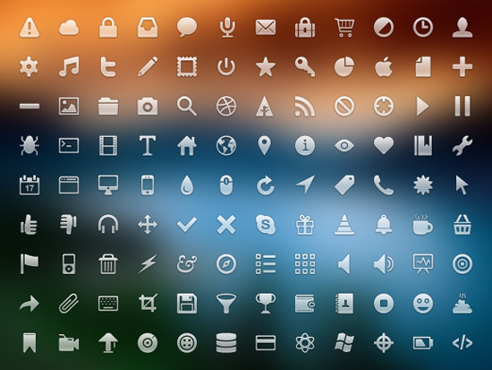 Free clean icon sets 19 20 Free Clean Icon Sets for Your Web Designs