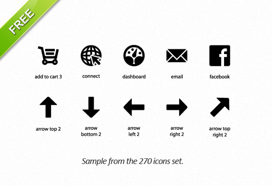 Free clean icon sets 20 20 Free Clean Icon Sets for Your Web Designs