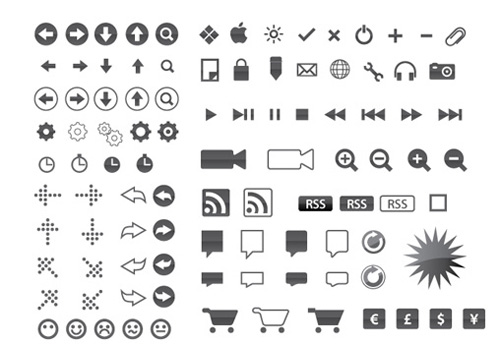 Free clean icon sets 6 20 Free Clean Icon Sets for Your Web Designs