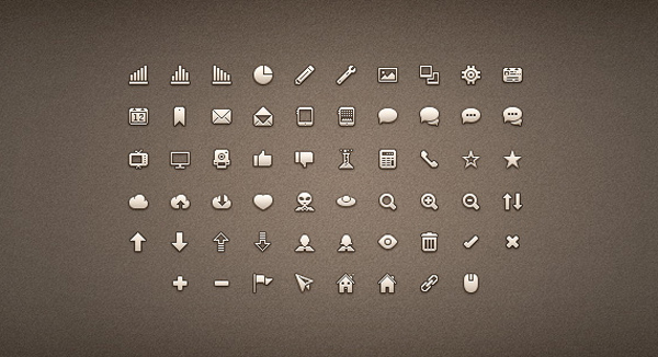 Free clean icon sets 8 20 Free Clean Icon Sets for Your Web Designs