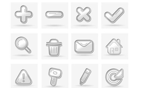 Free clean icon sets 9 20 Free Clean Icon Sets for Your Web Designs