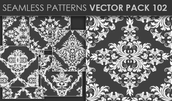 designious patterns vector 102 20 Cool T shirt designs & 10 Seamless Patterns Vector Packs from Designious.com