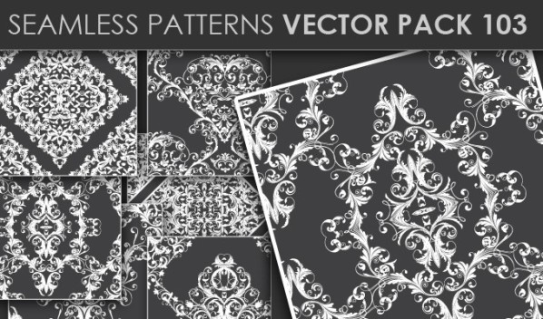 designious patterns vector 103 20 Cool T shirt designs & 10 Seamless Patterns Vector Packs from Designious.com