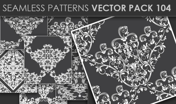 designious patterns vector 104 20 Cool T shirt designs & 10 Seamless Patterns Vector Packs from Designious.com