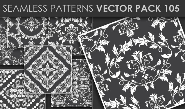 designious patterns vector 105 20 Cool T shirt designs & 10 Seamless Patterns Vector Packs from Designious.com