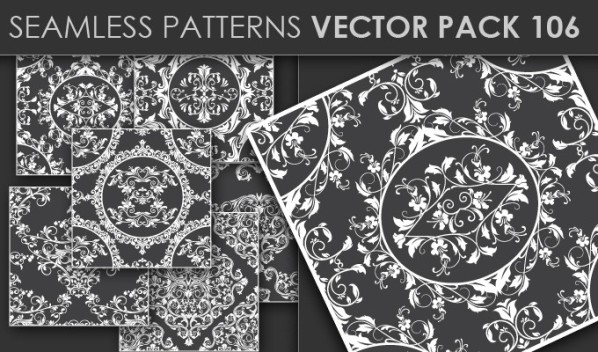 designious patterns vector 106 20 Cool T shirt designs & 10 Seamless Patterns Vector Packs from Designious.com