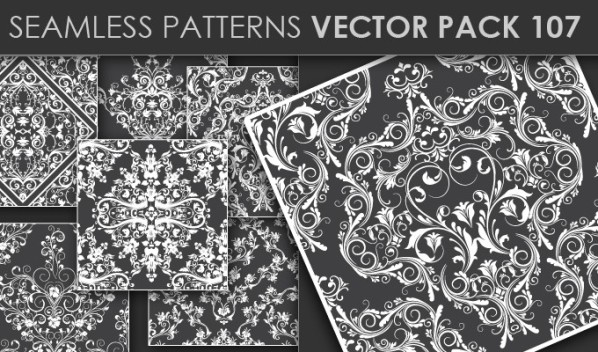 designious patterns vector 107 20 Cool T shirt designs & 10 Seamless Patterns Vector Packs from Designious.com