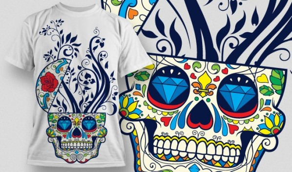 designious vector tshirt design 477 20 Cool T shirt designs & 10 Seamless Patterns Vector Packs from Designious.com