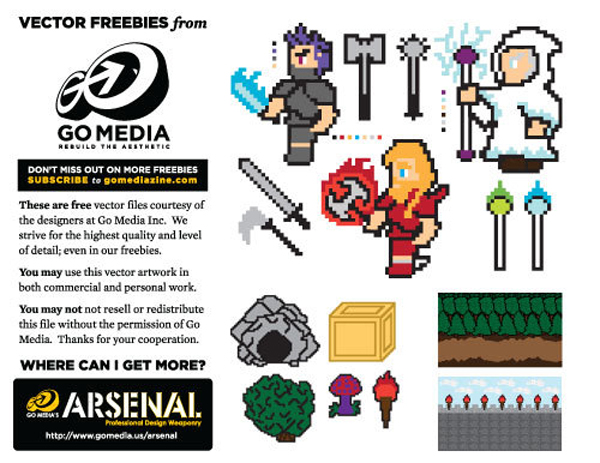 Collection 8 bit art 26 Jaw Dropping 8 bit Digital Art and Vector Freebies