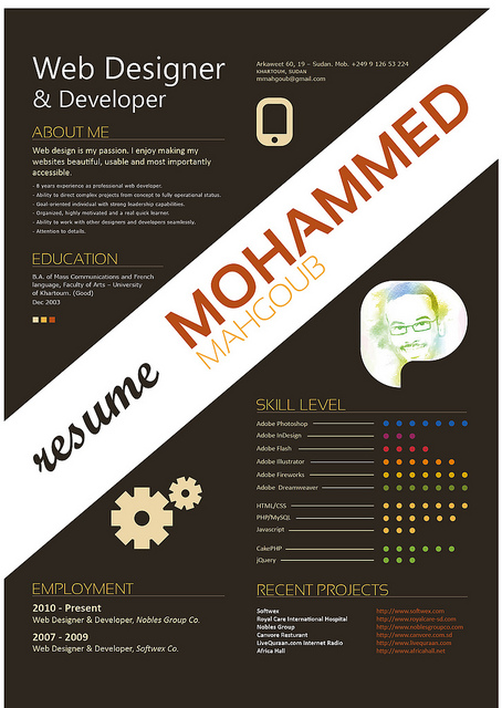 Designer resumes that stand out 10 How to Get Noticed as a Designer: 20 Resumes that Stand Out