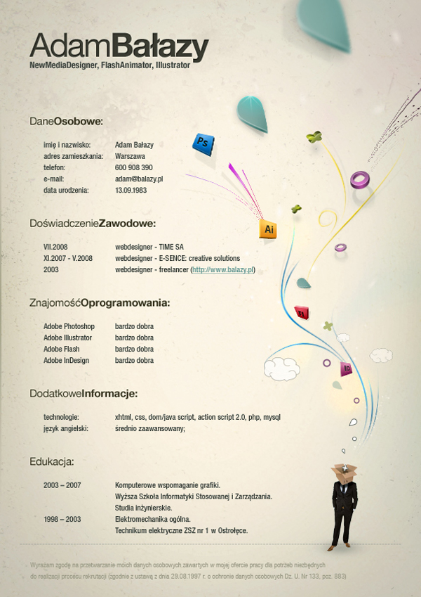 Designer resumes that stand out 13 How to Get Noticed as a Designer: 20 Resumes that Stand Out