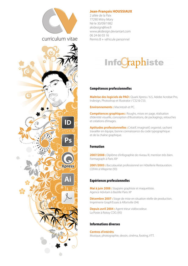 Designer resumes that stand out 19 How to Get Noticed as a Designer: 20 Resumes that Stand Out