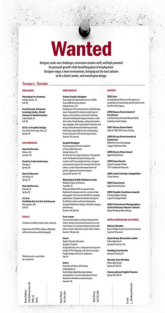 Designer resumes that stand out 9 How to Get Noticed as a Designer: 20 Resumes that Stand Out