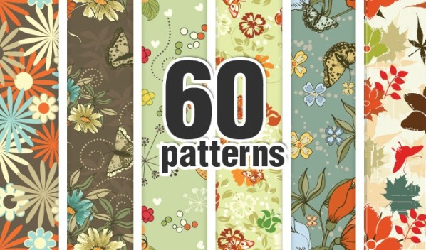 designious patterns bundle 10 New Products from Designious.com: 20 Awesome Vector Packs, 10 Urban T shirt Designs & 2 New Freebies