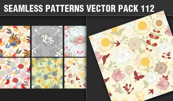 designious patterns vector 112 small New Products from Designious.com: 20 Awesome Vector Packs, 10 Urban T shirt Designs & 2 New Freebies