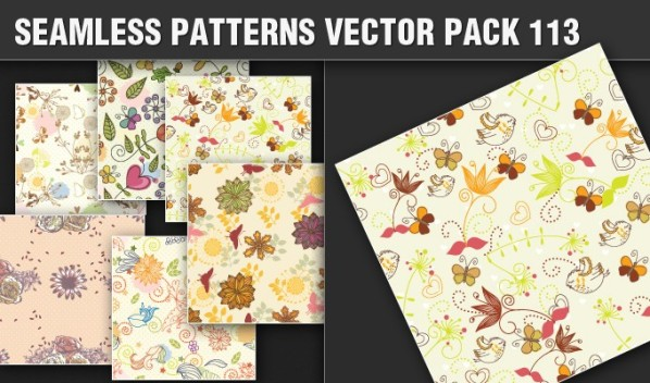 designious patterns vector 113 small New Products from Designious.com: 20 Awesome Vector Packs, 10 Urban T shirt Designs & 2 New Freebies