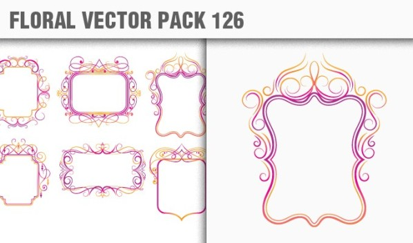 designious vector floral 126 small New Products from Designious.com: 20 Awesome Vector Packs, 10 Urban T shirt Designs & 2 New Freebies