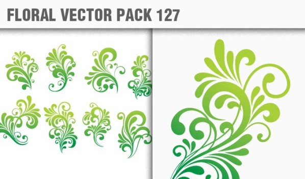 designious vector floral 127 small New Products from Designious.com: 20 Awesome Vector Packs, 10 Urban T shirt Designs & 2 New Freebies