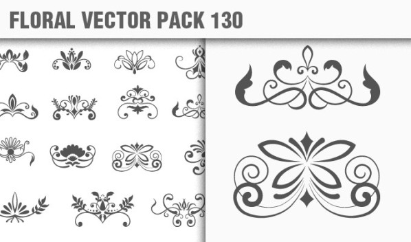 designious vector floral 130 small New Products from Designious.com: 20 Awesome Vector Packs, 10 Urban T shirt Designs & 2 New Freebies