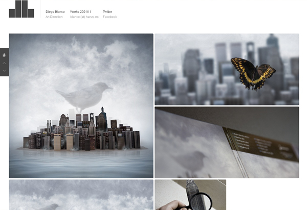 20 amazing Designer portfolio websites 2012 12 20 Amazing Designer Portfolio Websites from 2012