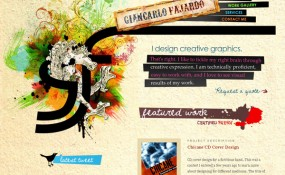 20 amazing Designer portfolio websites 2012 18 285x175 20 amazing Designer portfolio websites 2012 18