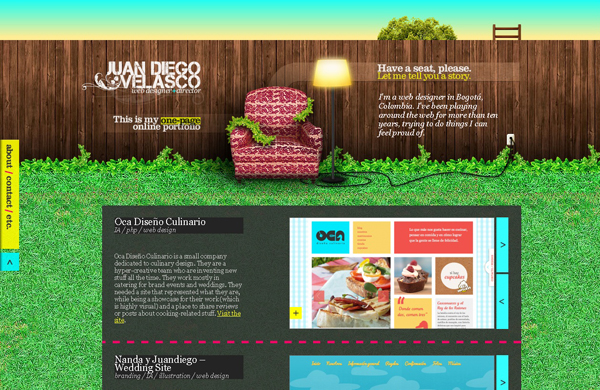 20 amazing Designer portfolio websites 2012 19 20 Amazing Designer Portfolio Websites from 2012