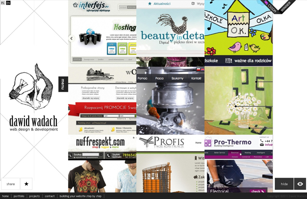 20 amazing Designer portfolio websites 2012 7 20 Amazing Designer Portfolio Websites from 2012