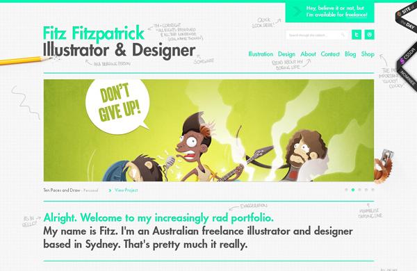 20 amazing Designer portfolio websites 2012 8 20 Amazing Designer Portfolio Websites from 2012
