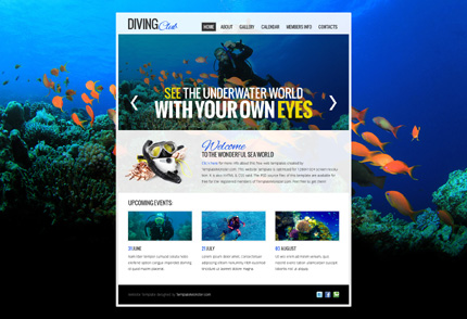 Showcase free innovative web templates 13 Showcase of 20 Free Innovative Web Templates from 2012