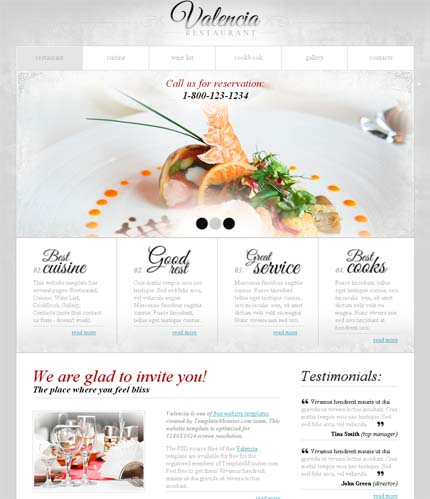 Showcase free innovative web templates 14 Showcase of 20 Free Innovative Web Templates from 2012