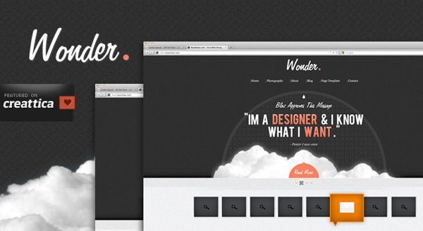Showcase free innovative web templates 16 Showcase of 20 Free Innovative Web Templates from 2012
