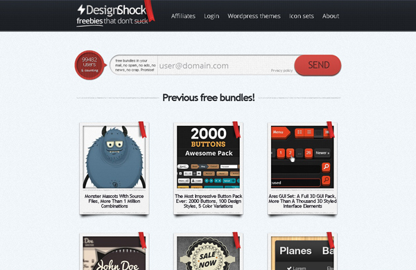 Websites free high quality PSD resources 18 25 Websites with Free High Quality PSD Resources
