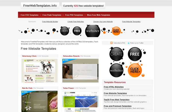 Websites free high quality PSD resources 6 25 Websites with Free High Quality PSD Resources