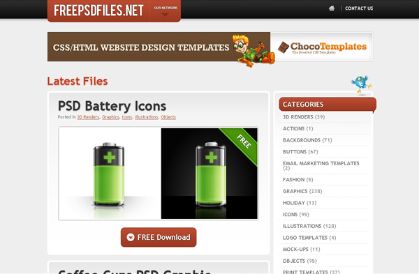 Websites free high quality PSD resources 7 25 Websites with Free High Quality PSD Resources