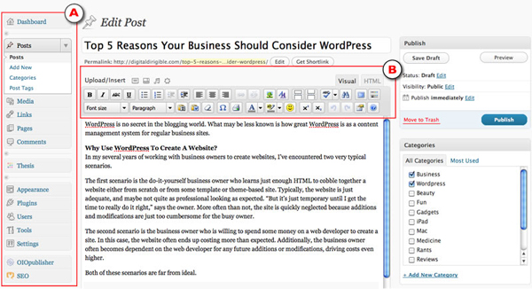 Four reasons WordPress build your website 2 Four Reasons Why You Should Use WordPress to Build Your Website