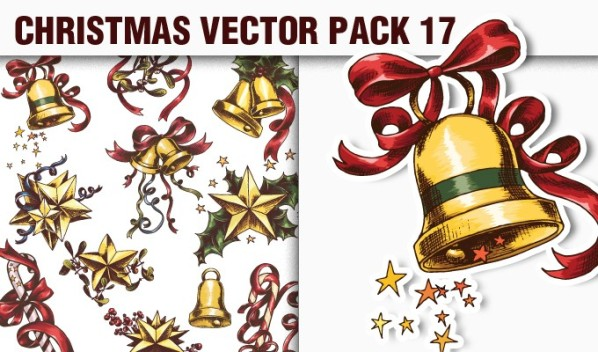 designious vector christmas 17 small A Massive New Collection of Christmas Vectors, Ps Brushes & More from Designious.com