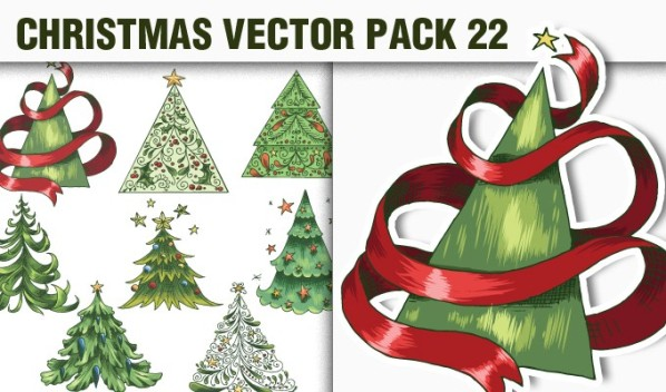 designious vector christmas 22 small1 A Massive New Collection of Christmas Vectors, Ps Brushes & More from Designious.com