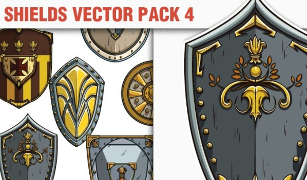 designious vector shields 4 small A Massive New Collection of Christmas Vectors, Ps Brushes & More from Designious.com