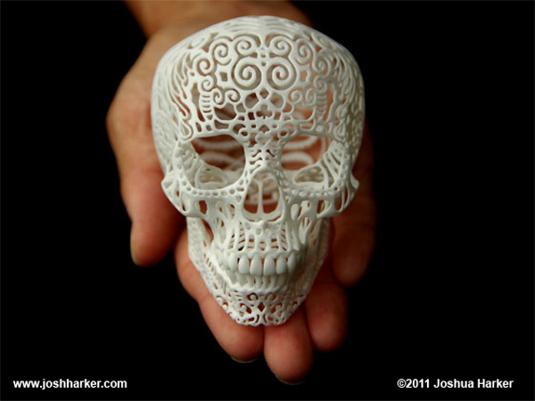 crania 1b1 Stereolithography: The Science behind 3D Printing