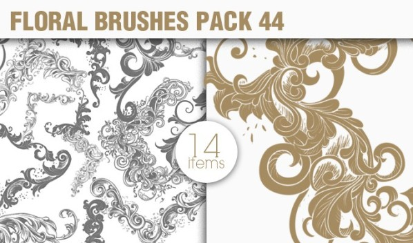 designious brushes floral frames 44 small New Vectors Packs, Brushes & T shirt Designs from Designious.com!